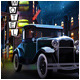 Retro classic Vehicle full scene market - 3DOcean Item for Sale