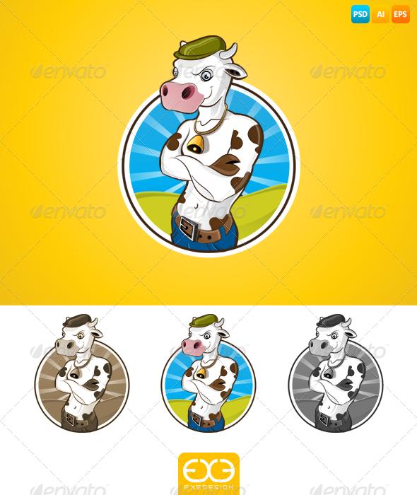Cow - Animals Illustrations