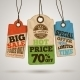 Collection of Cardboard Sale Price Tags - GraphicRiver Item for Sale