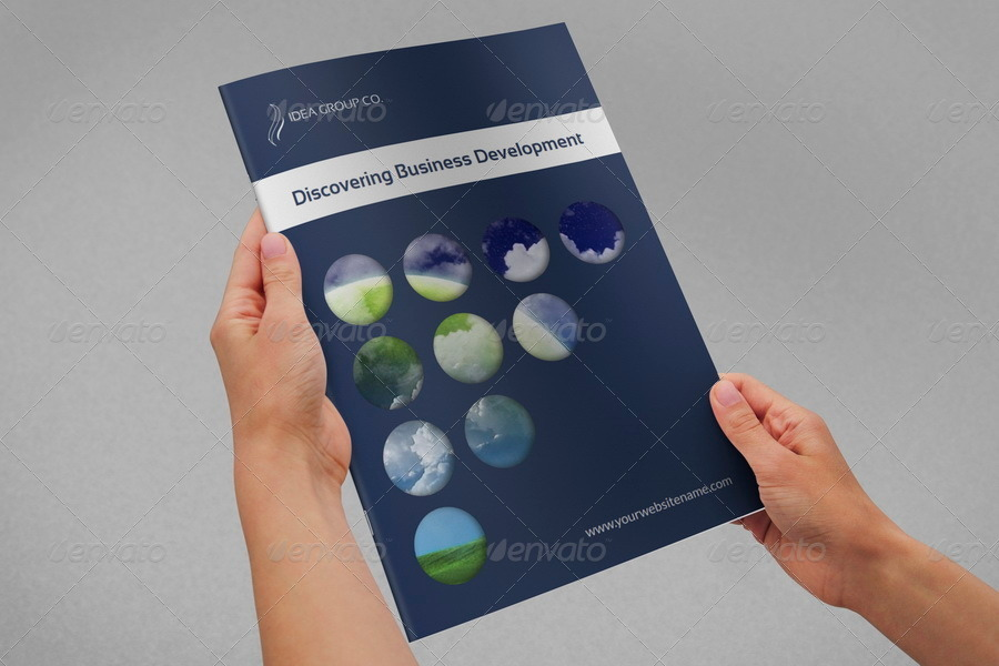 Corporate Brochure Template Vol.33 - 16 Pages