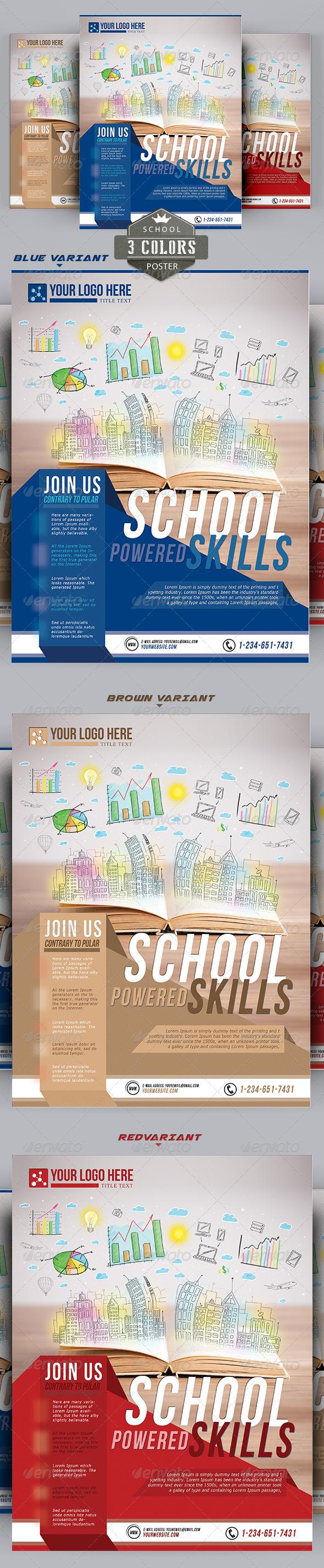 Fresh Skills Brochure 3 Colors - Corporate Brochures