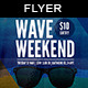 Wave Weekend | Flyer Template