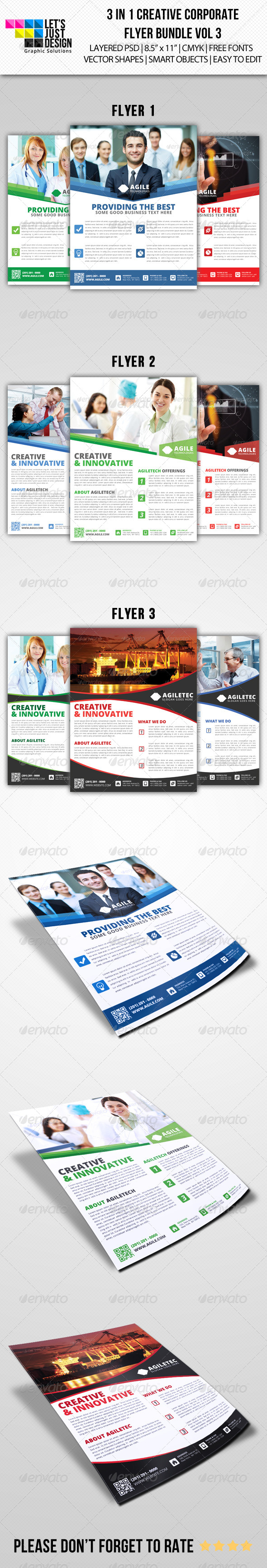 Creative Corporate Flyer Pack Vol 3 - Corporate Flyers