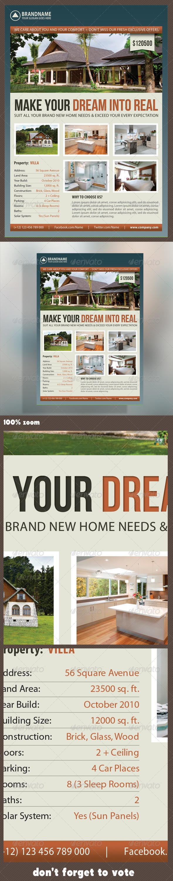 Real Estate Corporate Flyer 05 - Commerce Flyers
