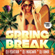 Spring Break Surf Beach Club Party - GraphicRiver Item for Sale