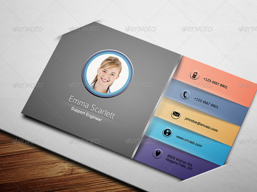 Civil Engineer Business Card 3 by ethanfx | GraphicRiver