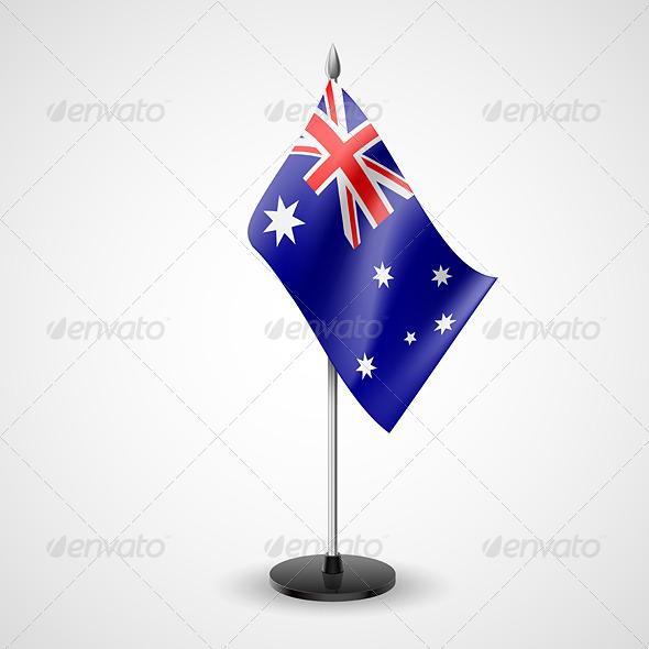 Table Flag of Australia - Miscellaneous Vectors