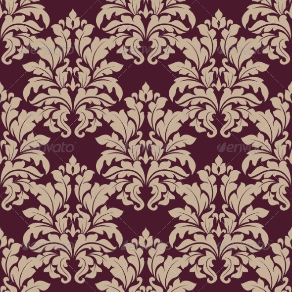 Dense Ornate Arabesque Pattern - Patterns Decorative