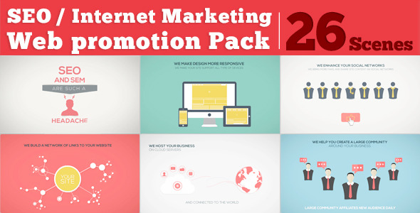 SEO / Internet Marketing / Web Promotion Pack