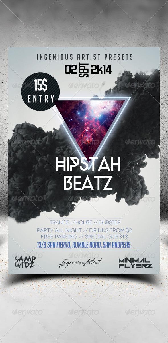 Minimal Flyer Vol.10 - Clubs & Parties Events
