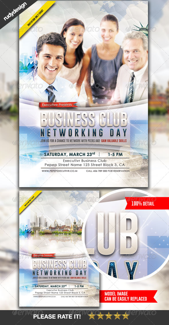Business Flyer Template Design - Corporate Flyers
