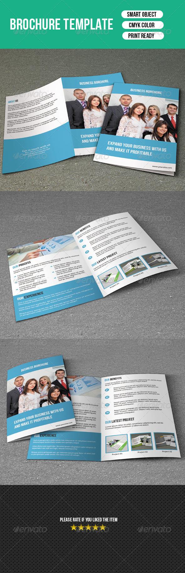 Bifold Brochure - Business - Corporate Brochures