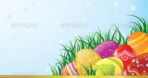 Easter Eggs - Seasons/Holidays Conceptual