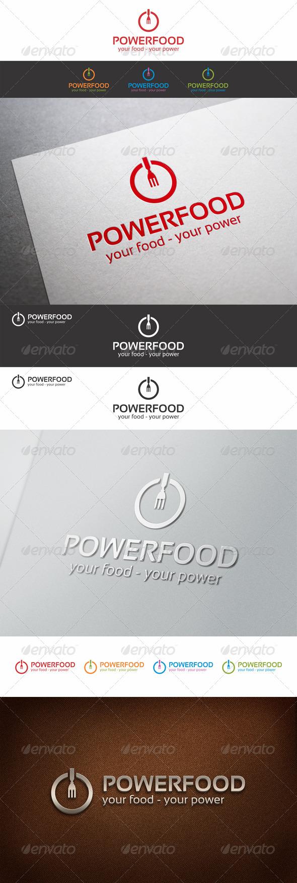 Power Food Logo Template_v2