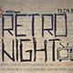 Retro Night V7 - GraphicRiver Item for Sale