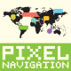 Pixel Art Navigation Set - GraphicRiver Item for Sale