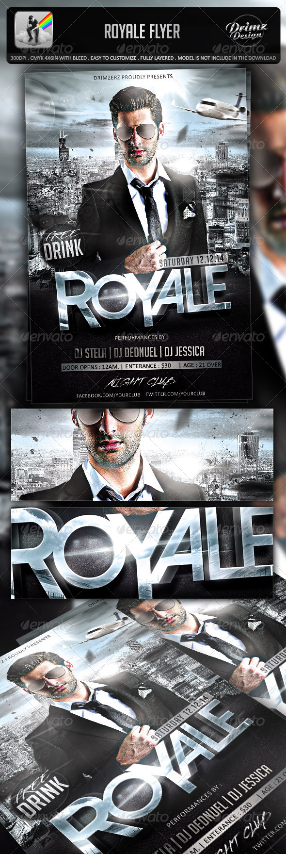 Royale Flyer - Events Flyers