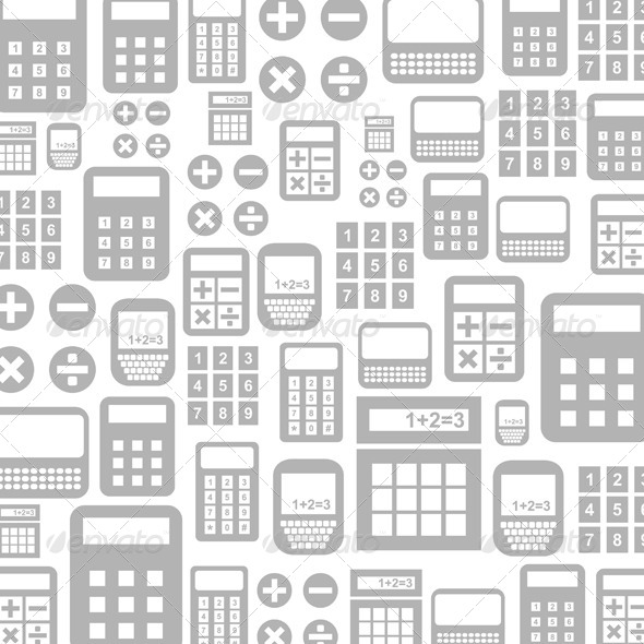 Calculator Background - Miscellaneous Vectors