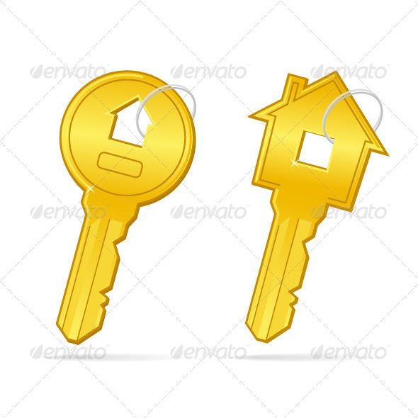 Home Keys - Objects Vectors