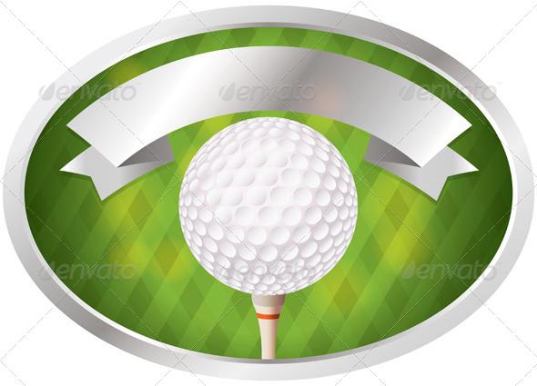 Golf Emblem - Sports/Activity Conceptual