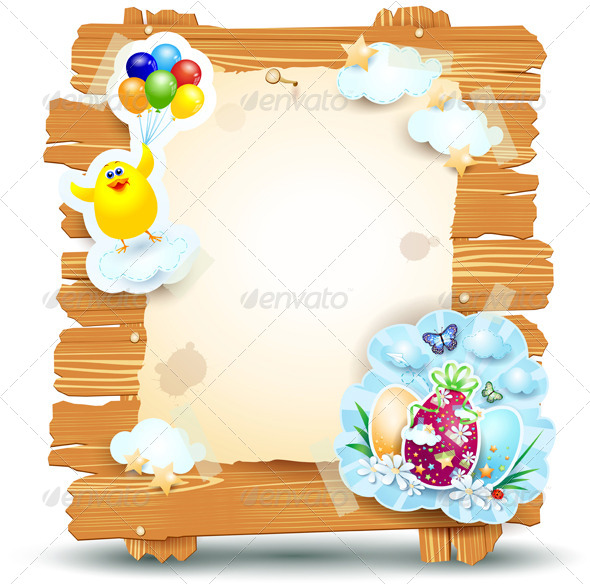 Easter Signboard - Miscellaneous Seasons/Holidays
