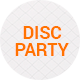 Disc Party - 5 Flyers - GraphicRiver Item for Sale