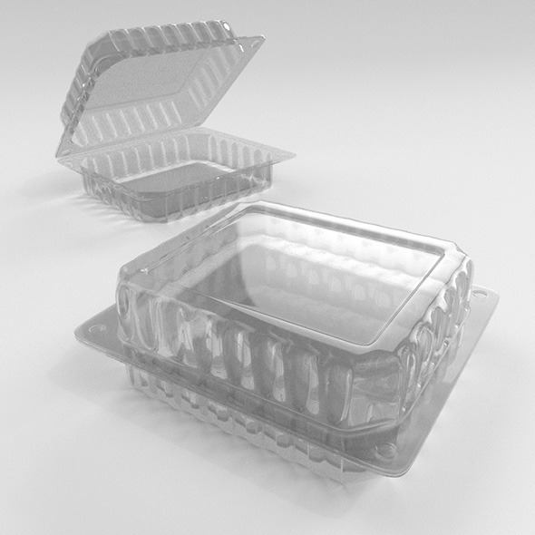 Food Container - 3DOcean Item for Sale