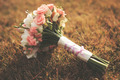 Wedding bouquet on grass - PhotoDune Item for Sale