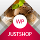 Cake Bakery WordPress Theme - Justshop - ThemeForest Item for Sale