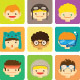 Characters and Activities - GraphicRiver Item for Sale