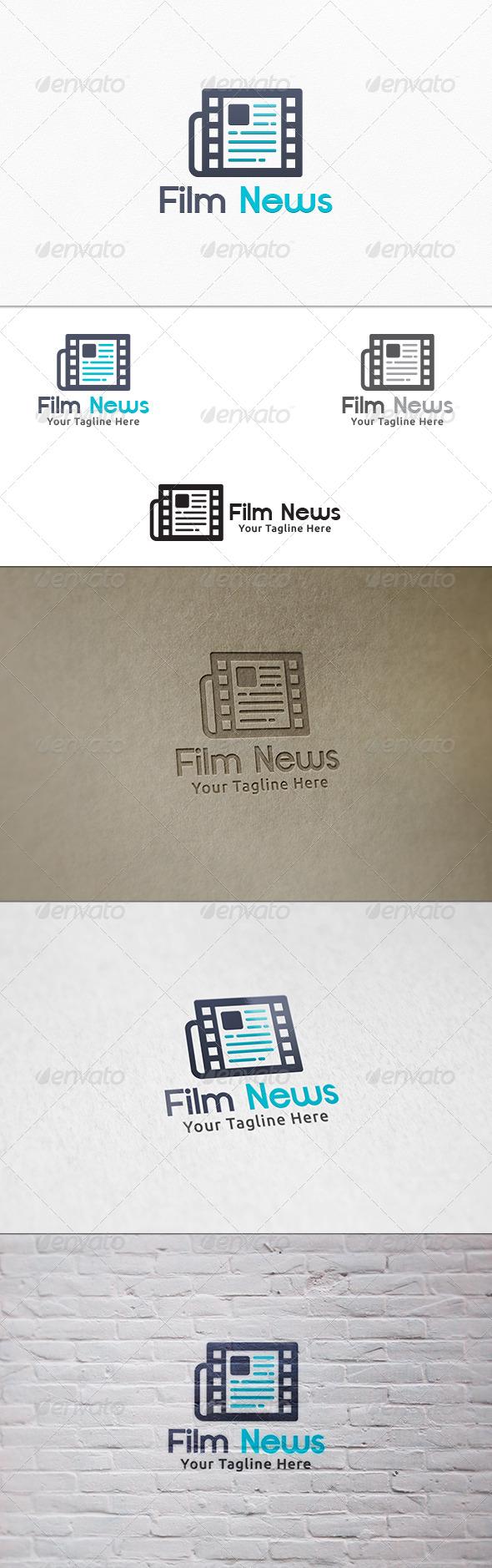 Film News V2 - Logo Template - Symbols Logo Templates