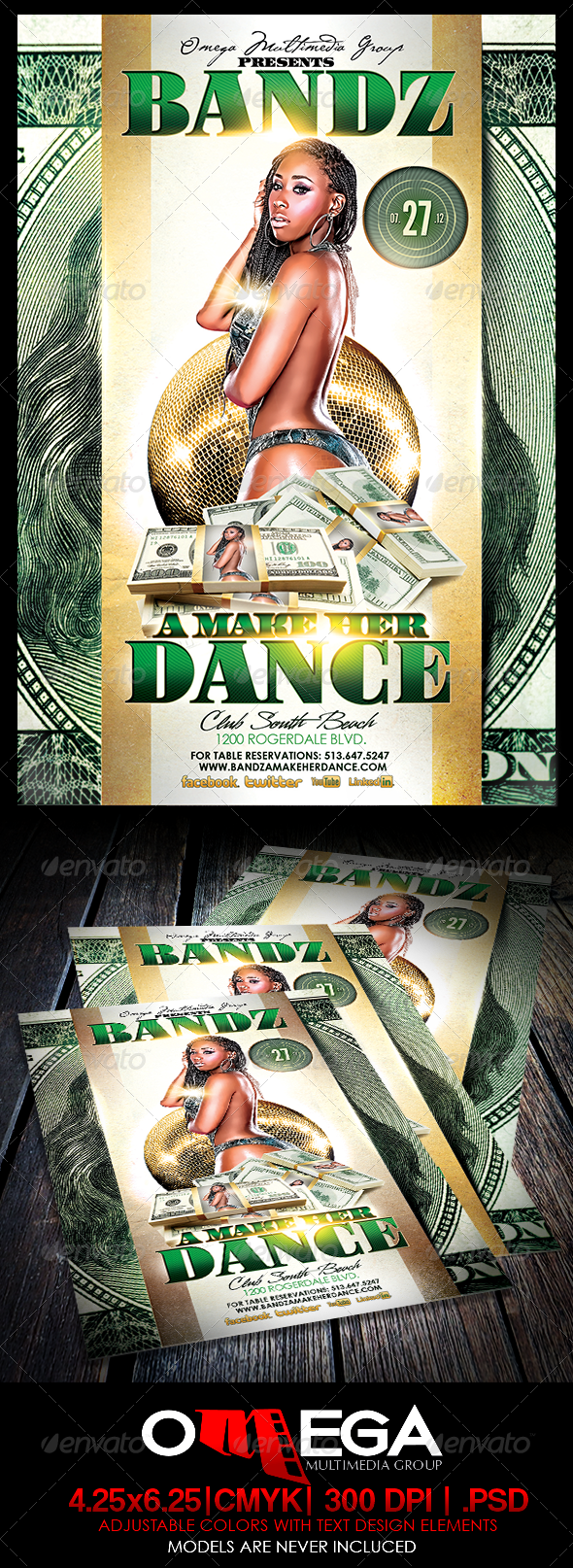 Bandz A Maker Her Dance - Events Flyers