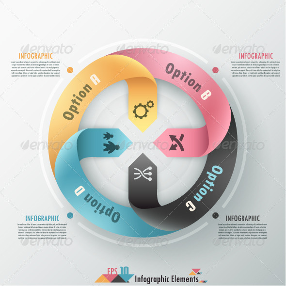 Modern Infographics Options Banner. - Infographics