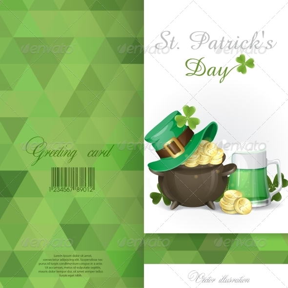 St. Patrick's Day Background - Miscellaneous Seasons/Holidays
