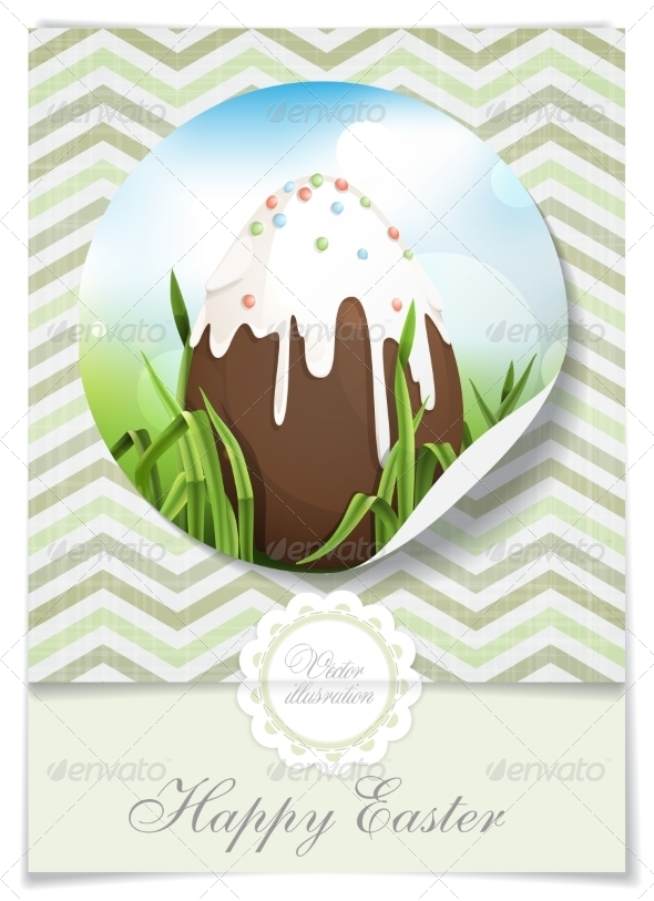 Chocolate Easter Egg - Miscellaneous Seasons/Holidays