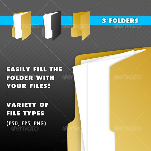 Open Folder - Miscellaneous Print