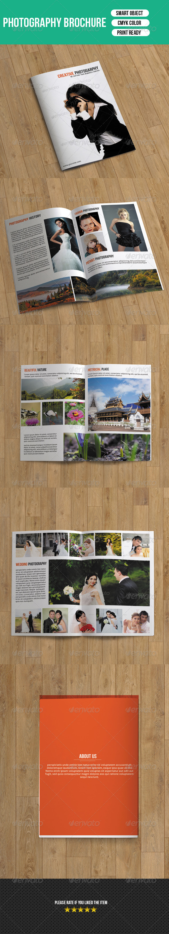 Photography Brochure-8 Pages - Corporate Brochures