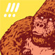 King Kong Gorilla - GraphicRiver Item for Sale