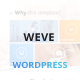 Weve - Responsive Metro Style WordPress Theme Nulled