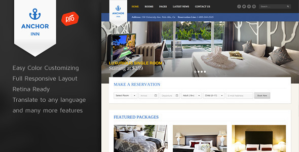 The 20+ Best Hotel WordPress Themes for [sigma_current_year] 15