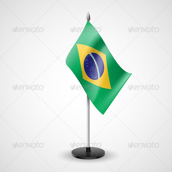 Table Flag of Brazil - Miscellaneous Vectors