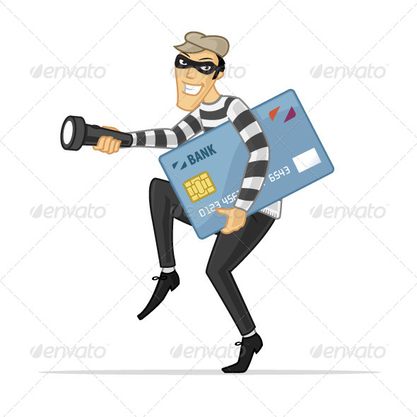 Credit Card Thief - People Characters