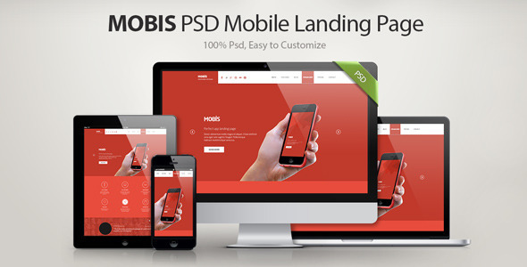 Mobis - App Landing Page - Business Corporate
