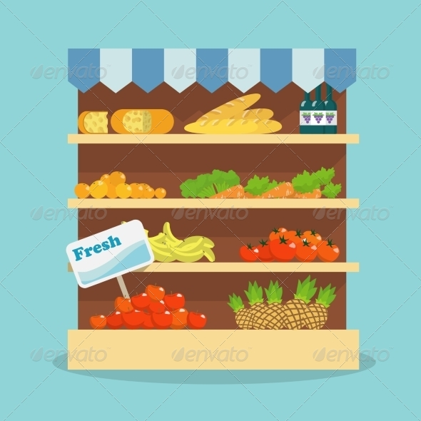 Supermarket Food Collection - Food Objects