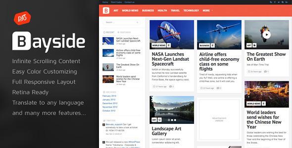 Bayside – Responsive WordPress Theme