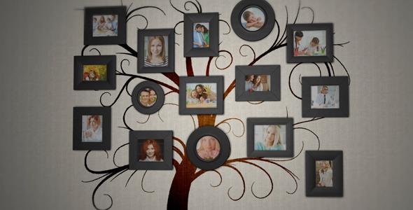 family tree photo album by enakentii videohive