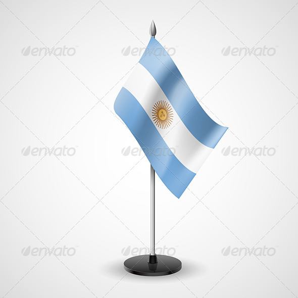 Table Flag of Argentina - Miscellaneous Vectors