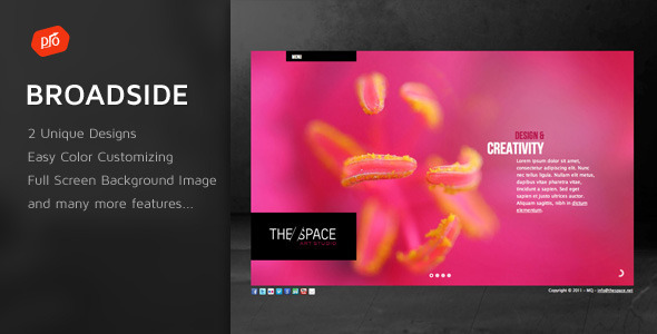 Broadside - Premium Site Template - Portfolio Creative