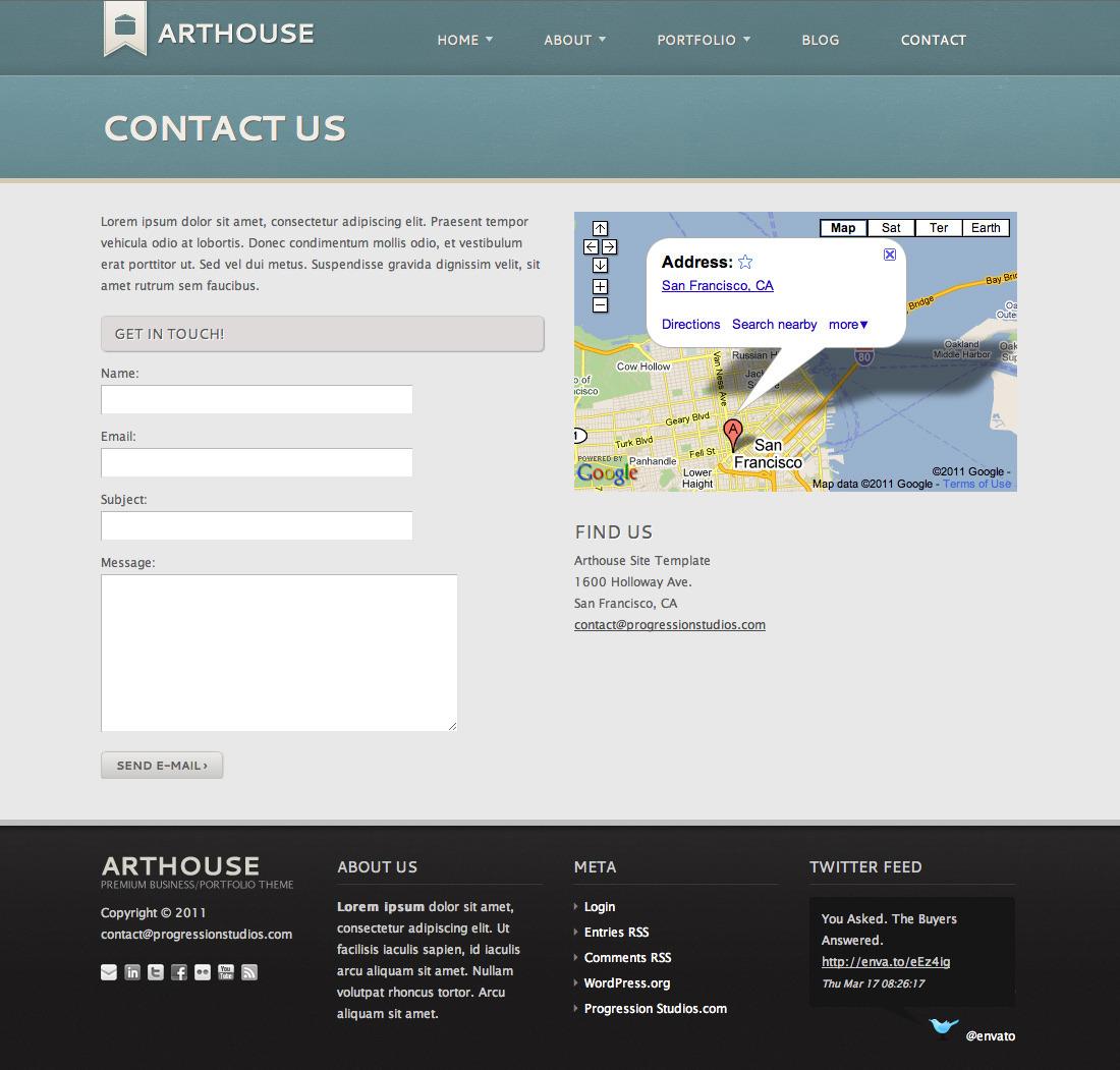 Business Portfolio Template: Premium Business & Portfolio Template By