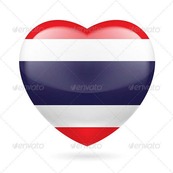 Heart Icon of Thailand - Miscellaneous Vectors
